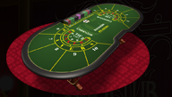 Classic Baccarat Table